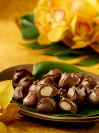 Chocolate cream candies