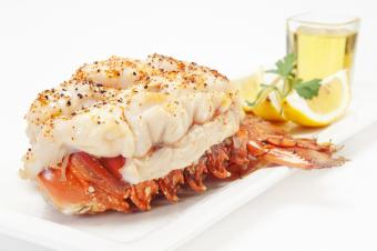 Steaming Lobster Tail