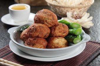 Fried pork balls
