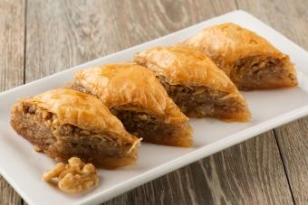 Fillings for Phyllo Pastry
