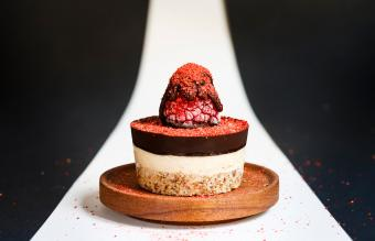 Gourmet Raspberry Cheesecake