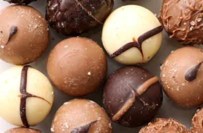 Chocolate truffles are delicious.