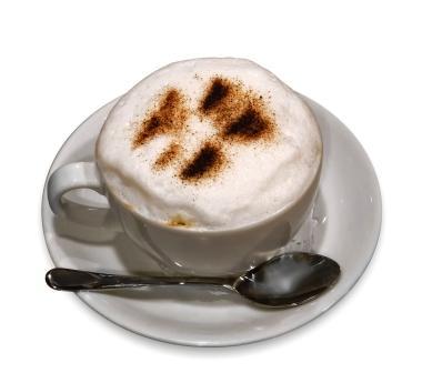 Cinnamon on Cappuccino