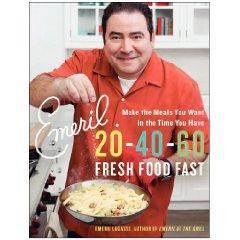 Emeril Lagasse's latest cookbook