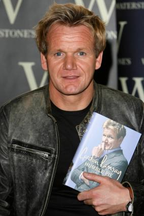 Gordon Ramsay learned by being in the kitchen.