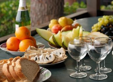 gourmet picnic food