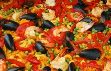 Paella is a regional dish of Spain.