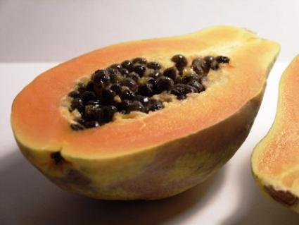 Papaya With Seeds
