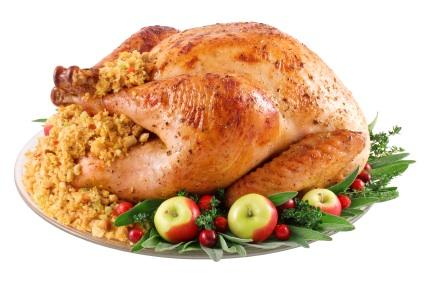Turkey and stuffing