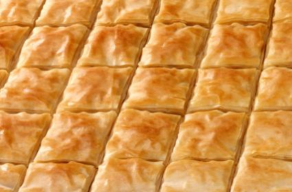 Baked phyllo