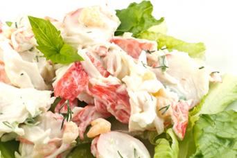 Spicy Crab Salad