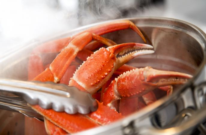 Cooking Crab Legs