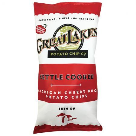 Great Lakes Potato Chip Co. Michigan Cherry BBQ