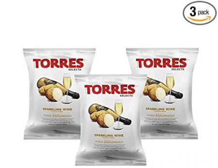 Torres Sparkling Wine Chips 50g (3-Pack)