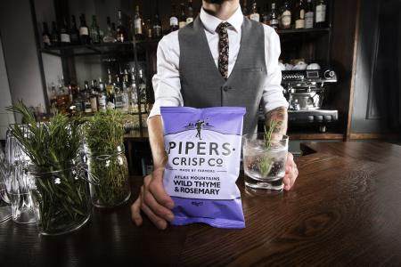 Pipers Crisp Co. Wild Thyme & Rosemary