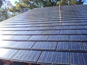 Atlantis Energy Sunslates photovoltaic shingles