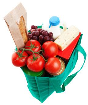 Cloth grocery bags are good for the environment.