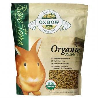 Oxbow Bene Terra Organic Rabbit Food, 3 lb