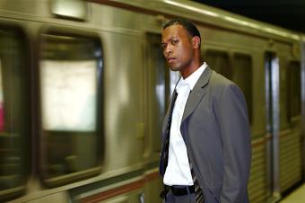 Commuter Businessman