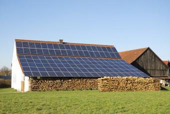 Green energy in rural area
