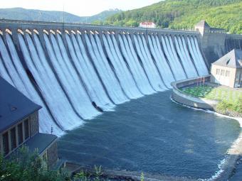 Dam in Germany