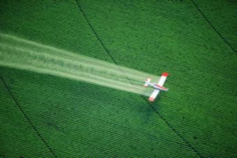 Crop Duster in Action