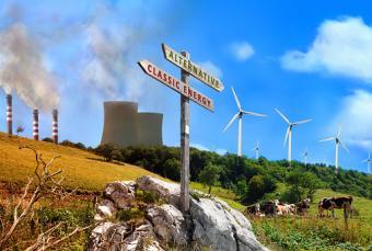 renewable vs factories