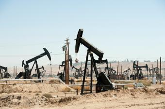 Oil field and Oil Pumps