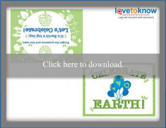 Celebrate Earth Printable Card