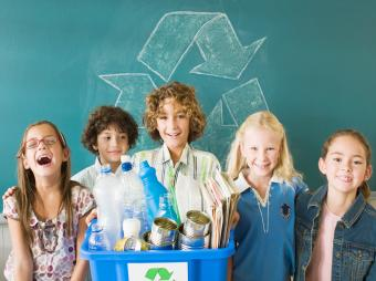 3 Creative School Recycling Projects