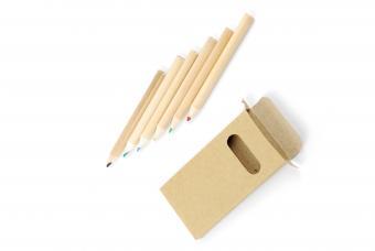 Colour pencils and pencil case