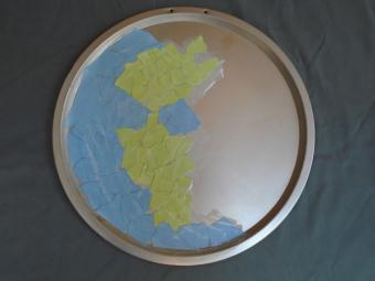 Earth Magnet Board Steps 1 to 6