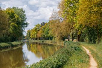 Path Along a Canal