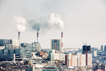 Pollution in Vladivostok