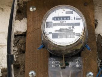 electric meter, energy use