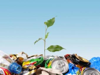 Many everyday items can have a new beginning with recycling.