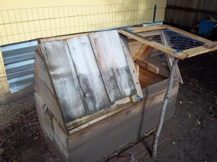 Chicken coop from another angle