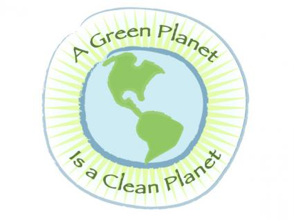 A green planet is a clean planet