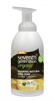 Foaming Natural Dish Soap from Seventh Generation