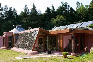 Brighton Earthship House