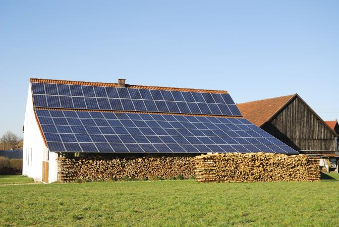 Green energy in rural area