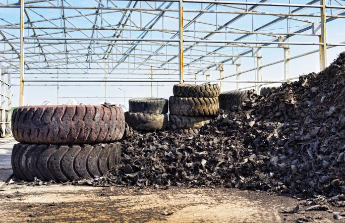 collected tires