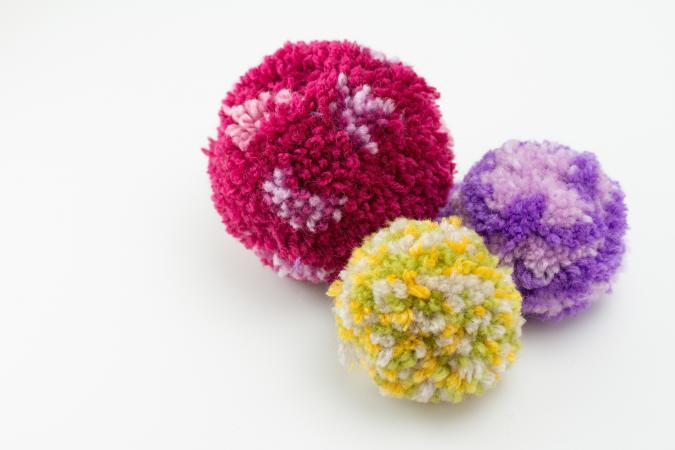 Woollen Pom-Poms
