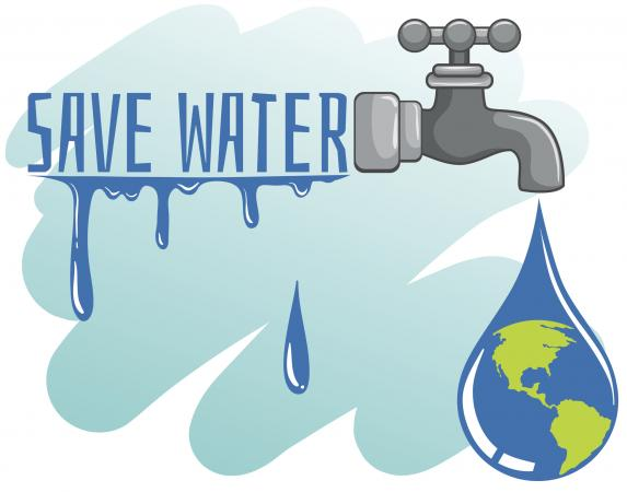 Water conservation illustration