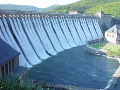 Dam in Germany