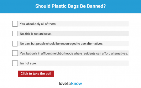 should plastic bags be banned poll