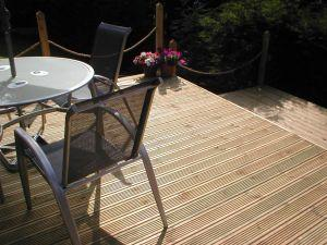 Green decking is kind to the environment