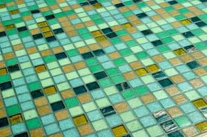 Green Glass Tiles
