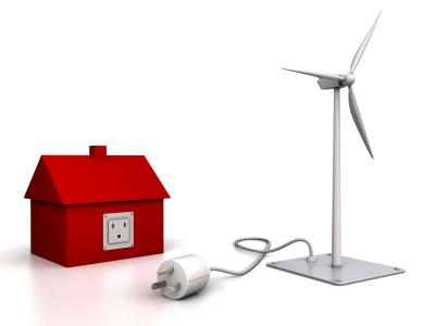 House unplugged from wind power