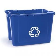 Recycle bins and containers lovetoknow for Recycle motor oil containers